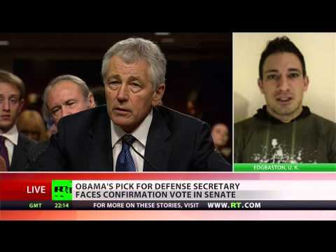 Republicans hold on Hagel's nomination