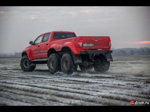 Тест-драйв Toyota Hilux Arctic Trucks AT38 6x6