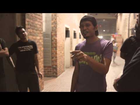 GUY RUNS OUT OF RAP BATTLE