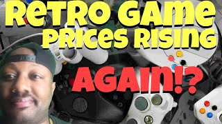 Game prices rising again!?