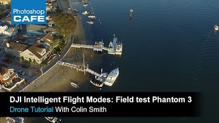 All 5 DJI intelligent flight modes tutorial, Waypoints, follow me, Tested and reviewed
