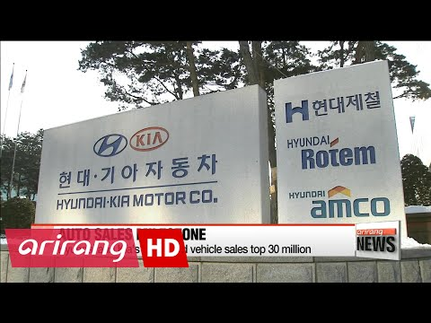 Hyundai and Kia's combined vehicle sales top 30 million
