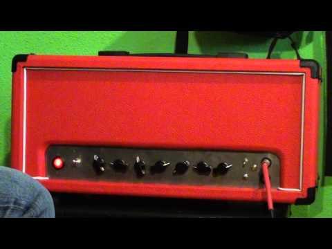 Super Lead 18W Tube Amp By Txistom (2 x EL84)