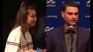 Leftist Student tries to bait Ben Shapiro, Fails miserably