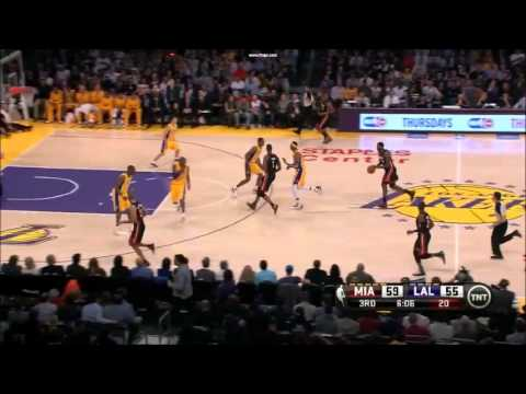 17 January 2013 Miami Heat @ Los Angeles Lakers