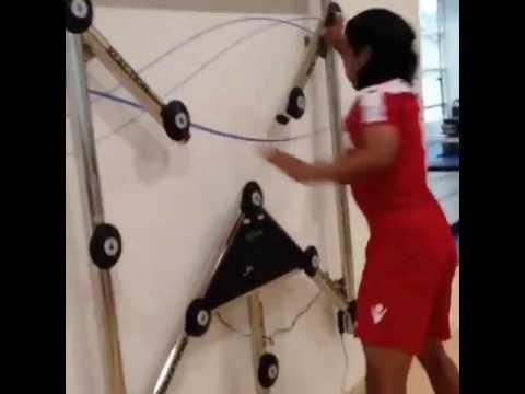 Radamel Falcao Special training
