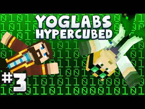 Minecraft Mods - Yoglabs Hypercubed 3 - Trapped In A Hard Drive video