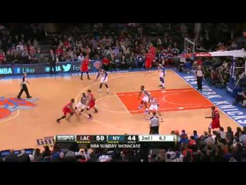 Los Angeles Clippers vs New York Knicks - February 10, 2013