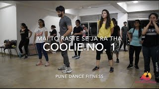 Tujko Mirchi lagi to | Govinda | Coolie No. 1 | Easy Dance Choreo | Pune Dance Fitness