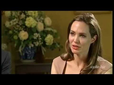 Angelina Jolie and William Hague interview