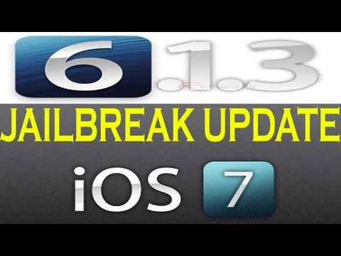 iOS 6.1.3, 6.1.4 & iOS 7 Jailbreak UPDATE for iPhone, iPad & iPod Touch