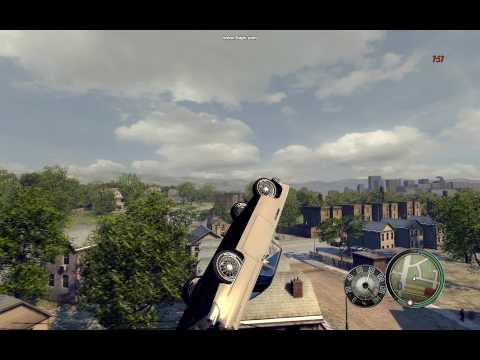 Insane Mafia 2 car jump!