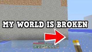 5 Ways MY WORLD IS BROKEN - Minecraft Xbox