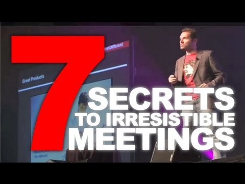 7 Secrets to an Irresistible Meeting (MPI) - Conference, Meeting Planner & Keynote Speaker Ideaa