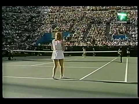 Chris Evert Vs Tracy Austin 6 Video