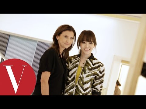 侯佩岑VS Longchamp設計師,展現女人始終的優雅