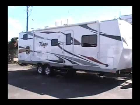 New TANGO Bunk 31ft Trailer - Large Storage