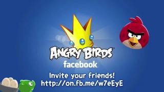Angry Birds coming to Facebook!