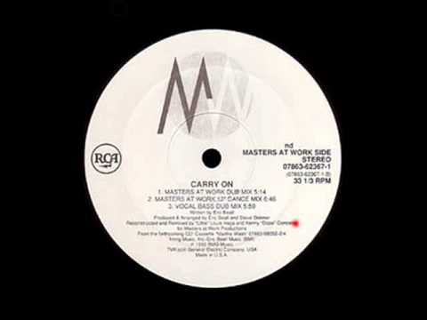 Carry On (Masters At Work Dub Mix) Martha Wash Masters At Work - RCA (Side 1)