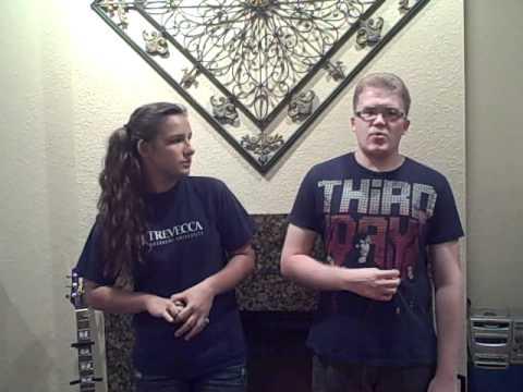 Jesus, Friend Of Sinners (by: Casting Crowns) Cover By: Olivia Howlett And David Anderson video