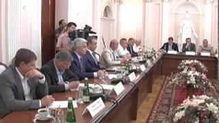 Вениамин Кондратьев провел встречу с бизнесменами. Новости Сочи Эфкате