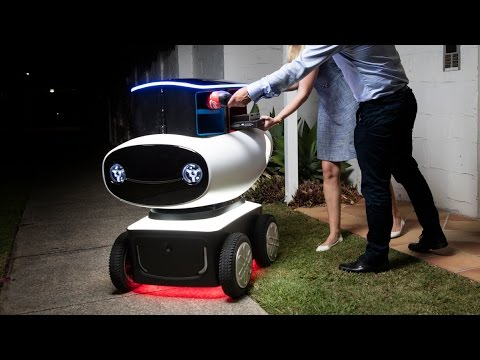 Domino's delivery robot of the future