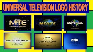 Universal Television Logo History (1955-present)