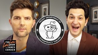 Adam Scott & Ben Schwartz React to Parks and Recreation Fan Theories