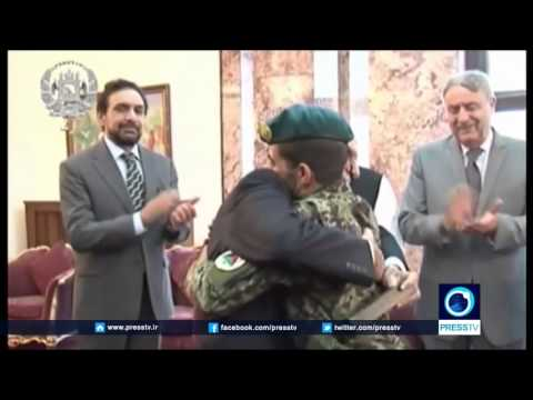 Afghan soldier saves lawmakers' lives, becomes National Hero