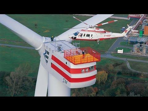 Enercon E126 - The Most Powerful Wind Turbine in The World