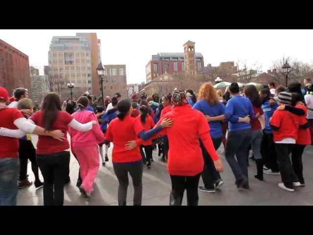 """Ballroom Basix """"Rhumba 4 Relief"""" Flash Mob"""