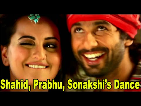 Gandi Baat Song | Prabhu Deva Dance With Shahid Kapoor & Sonakshi | R...rajkumar | Live Performance video