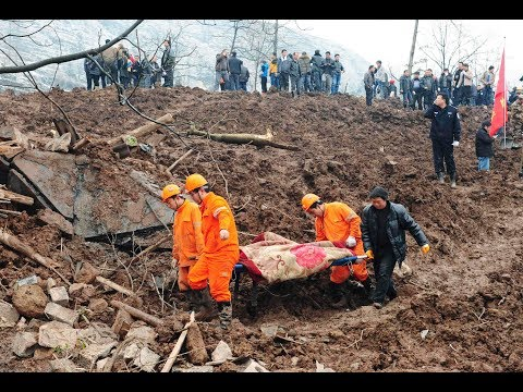 Massive LANDSLIDE 140 Dead; SCHOOL Attack 7 Dead 70 Injured - CHINA 6.24.17