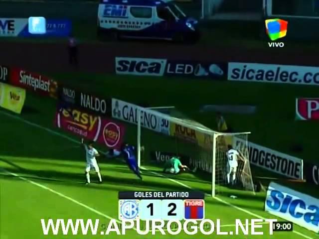 Belgrano vs Tigre (1-2) Primera División 2014 Fecha 17