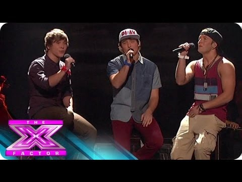 Emblem3's Got a Secret - THE X FACTOR USA 2012