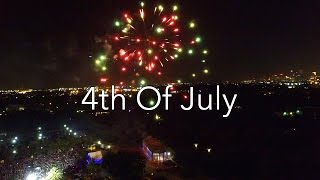 4th Of July Fireworks! Drone Footage!
