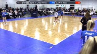 Spiral Volleyball 18 UA- 2019 Season Live Stream