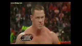 John Cena vs. Batista Monday Night Raw 22.03.2010 (Final faceOff).Original