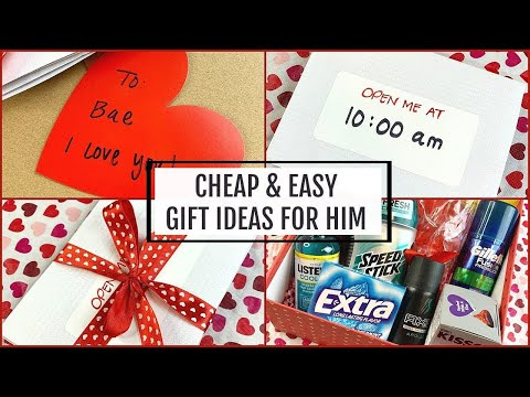 V-DAY GIFT IDEAS FOR YOUR MAN  *THINGS HE ACTUALLY WANTS*