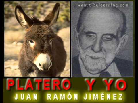 Platero y yo book cover. Juan Ramón Jiménez