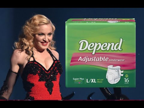 Madonna's Depends Diaper Commercial