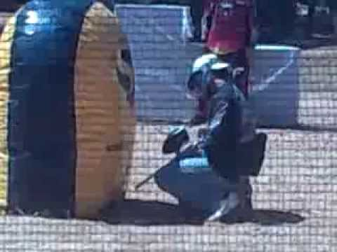 Torneio de paintball Praia verde Fox team 2 Video