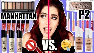 Ohje...P2 Vs. MANHATTAN 😳 Drogerie Vergleich Dupes I Luisacrashion