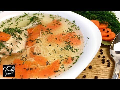 Легкий Суп для восстановления сил после праздников ;-) Суп с макаронами!