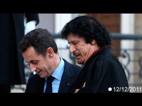 Sarkozy denies Gaddafi funding allegations
