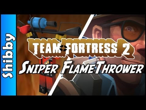 TF2 - SNIPER FLAMETHROWER  (Team Fortress 2 - Randomizer Mod)