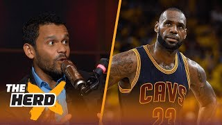 LeBron's fault Kyrie wants out? Knicks best spot for Kyrie? Jason McIntyre explains | THE HERD