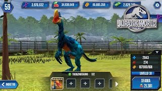Jurassic World - LEVEL 40 THERIZINOSAURO