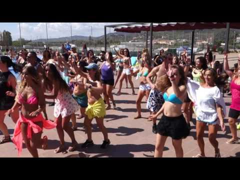 00094 ZLBF2016 ZoukLambada Pool Party Social dances ~ video by Zouk Soul