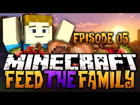 Minecraft: Feed The Family #5 - Modded Survival | CRUNDEE OVERLOAD